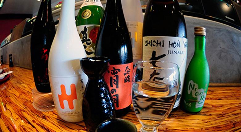 Sake Selection at Saiko Sushi